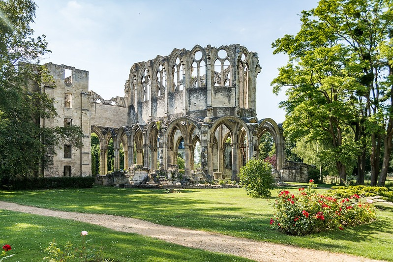 Abbaye d'Ourscamp , Oise , Que faire ce week-end ? Visiter l'Oise