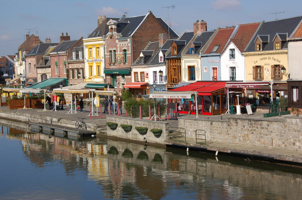 Amiens quartier Saint Leu , Que faire ce week-end ? Visiter la Somme