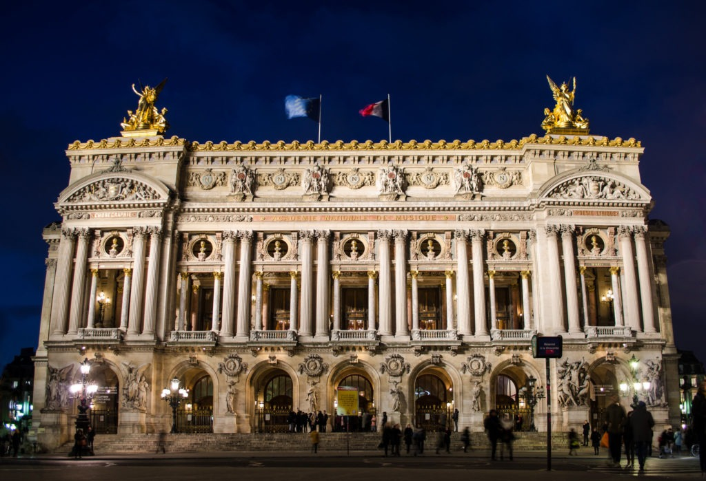 Palais Garnier. Que faire à Paris ? Monuments de Paris