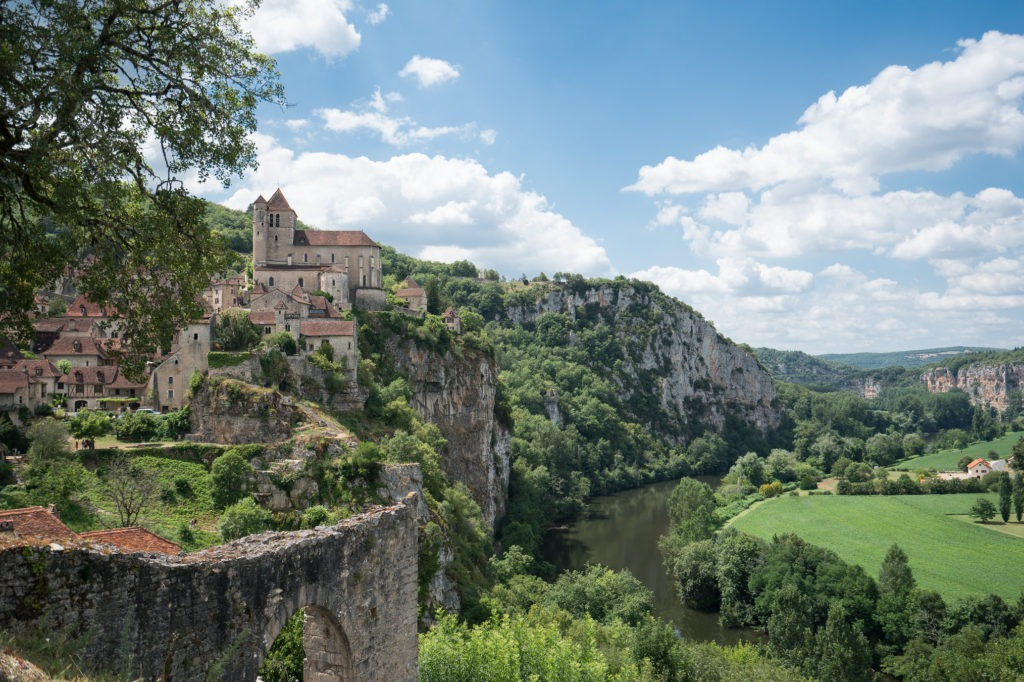 Saint-Cirq-Lapopie. Que faire ce week-end ? Visiter le Lot